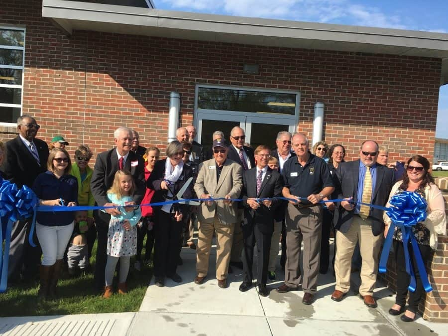 The Maritime Museum's ribbon cutting for phase one was held Thursday, March 16.