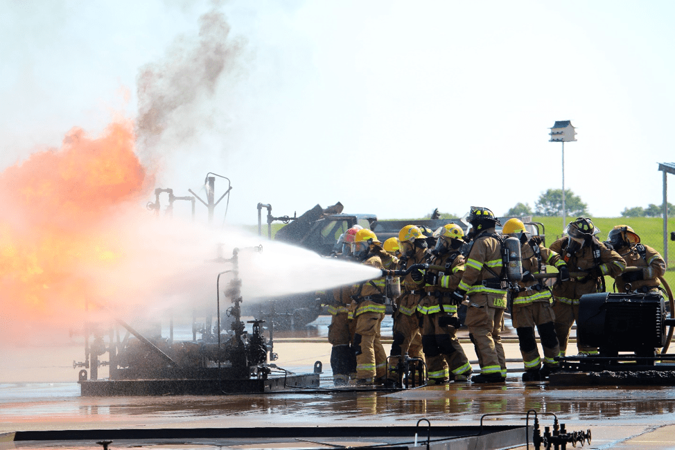 Chevron Firefighters