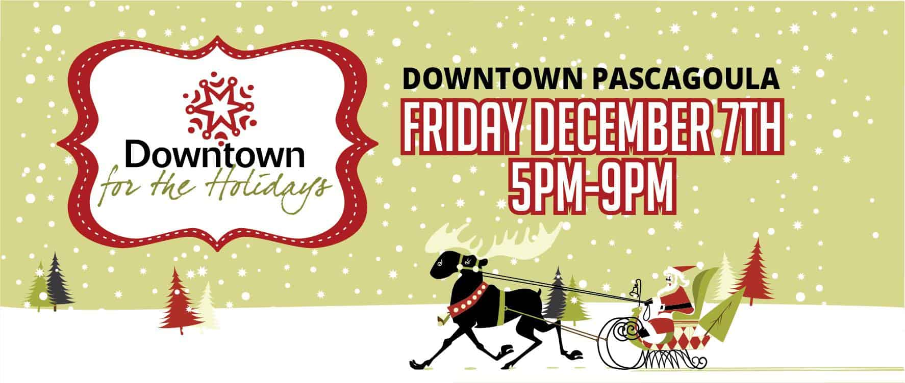 Www.Pascagoula Christmas Parade 2020 Enjoy Downtown for the Holidays in Pascagoula on Dec. 7   ourmshome