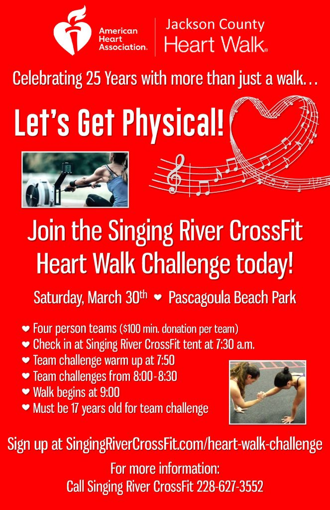 heartwalk challenge