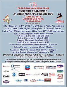 Pascagoula Men's Club Fishing Event