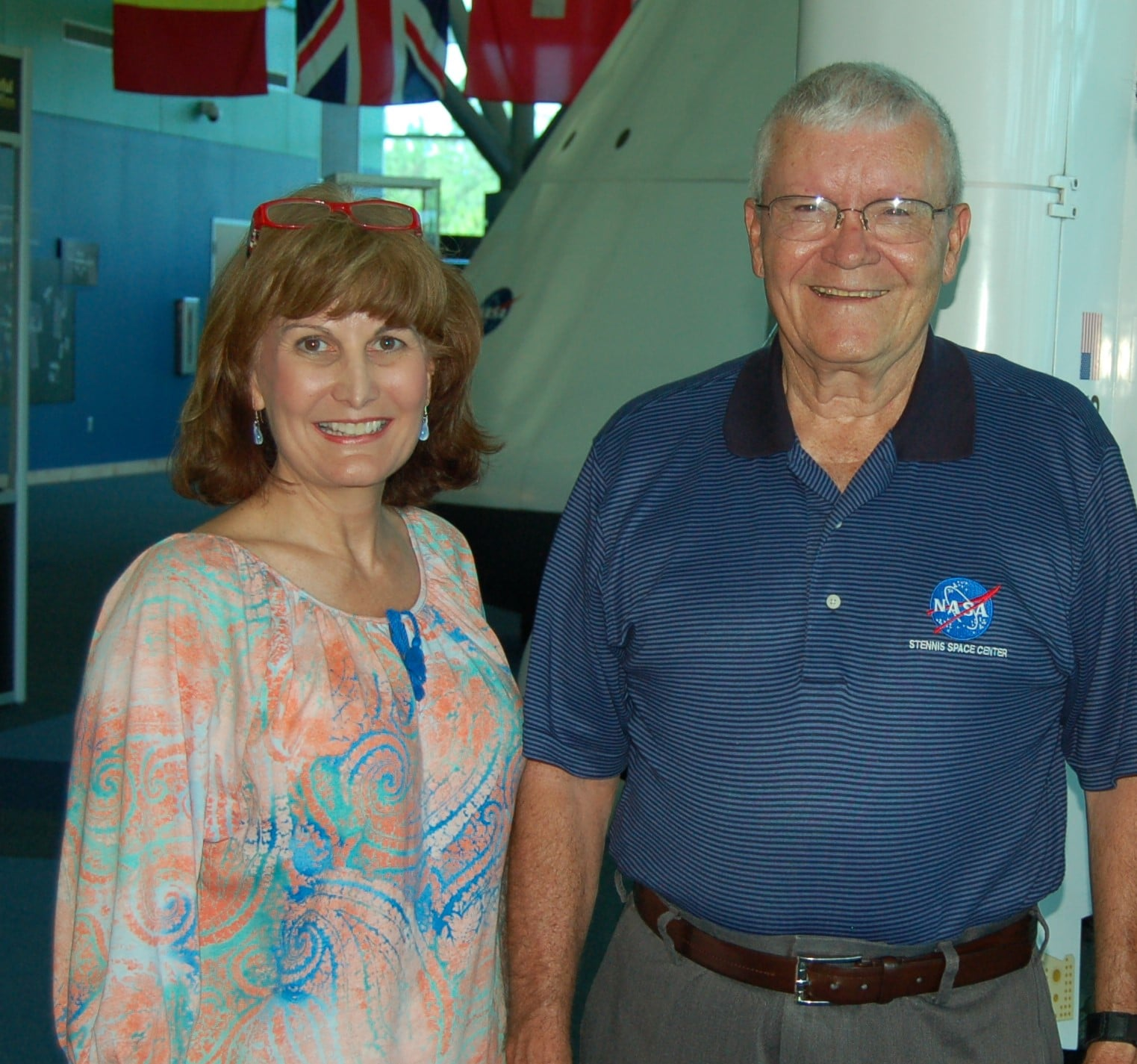 Nancy Jo Maples and Astronaut Fred Haise