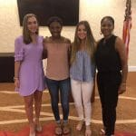 Kiwanis scholarship recipients