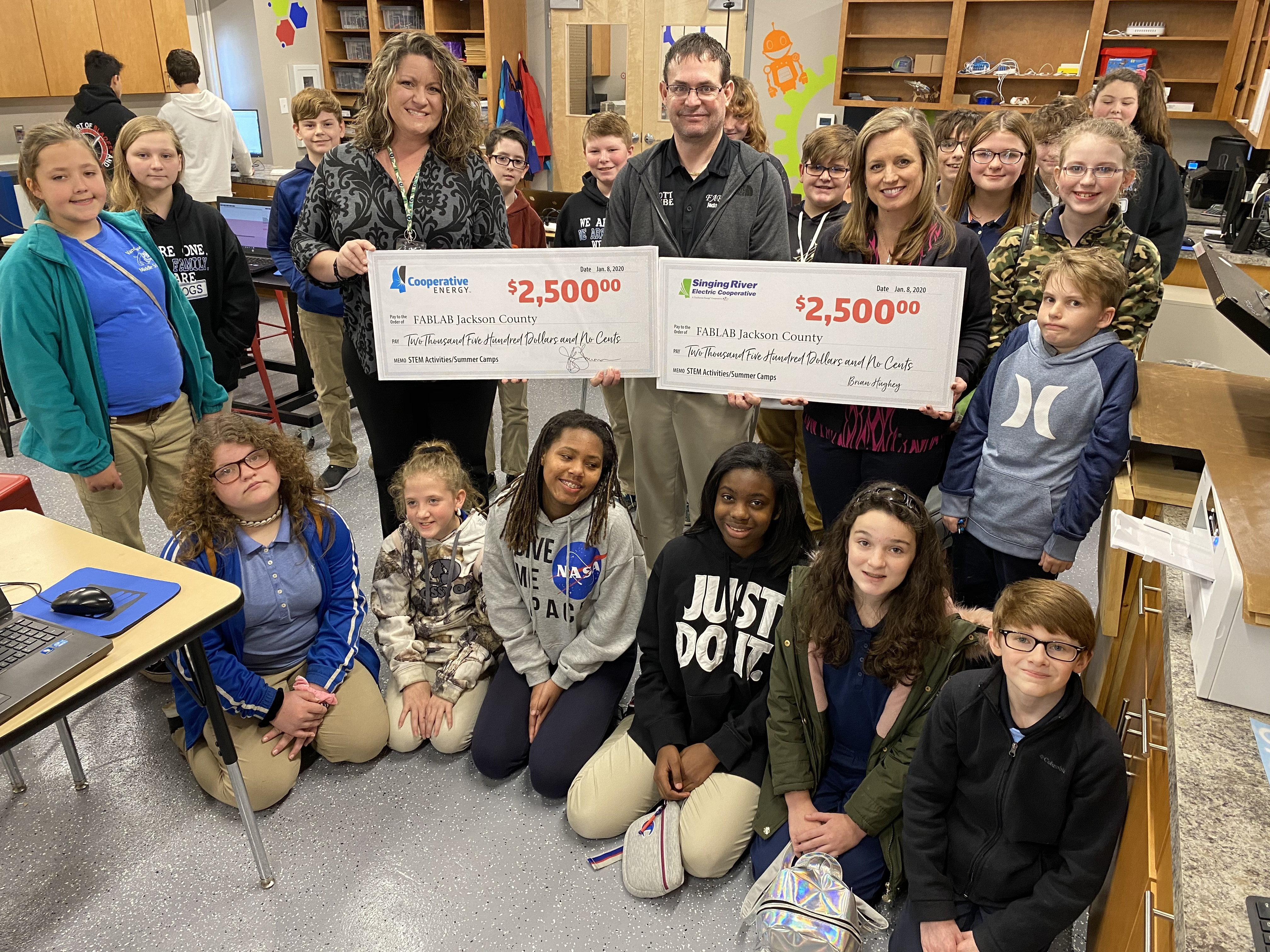 donation funds two FABLAB summer camps