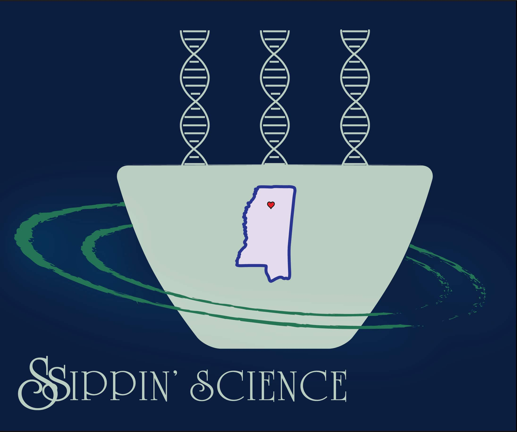 Ssippin' Science logo
