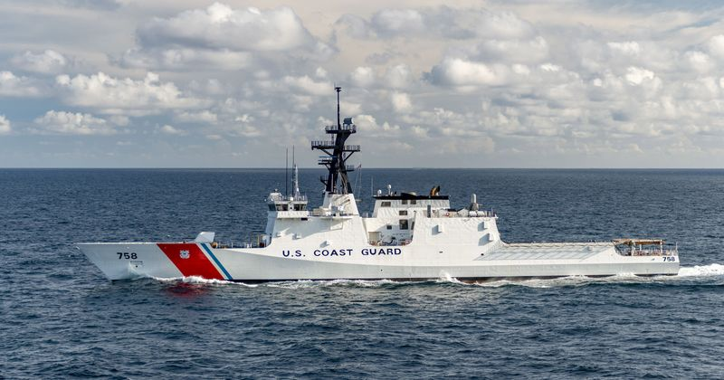 National Security Cutter Stone (WMSL 758)