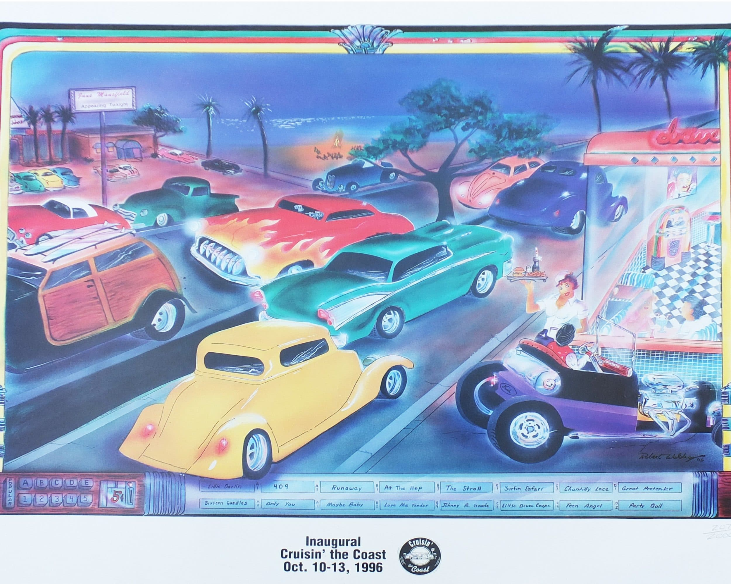 Cruisin' the Coast Poster from 1996 - OurMShome