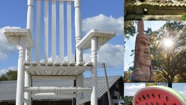 Roadside attractions in Mississippi