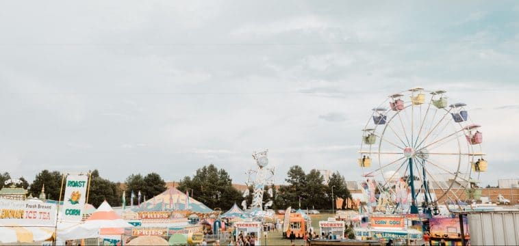 How to eat healthy at the state fair